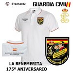 Polo Guardia Civil - 175 Aniversario