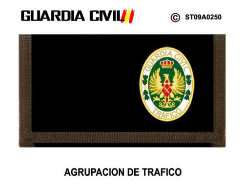Cartera Escudo Guardia Civil de Tráfico