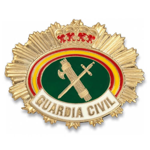 PLACA GUARDIA CIVIL - CARTERA