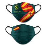 Mascarilla Reversible Guardia Civil - Verde Guardia Civil